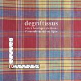 Tissu Jacquard écossais, madras rouge