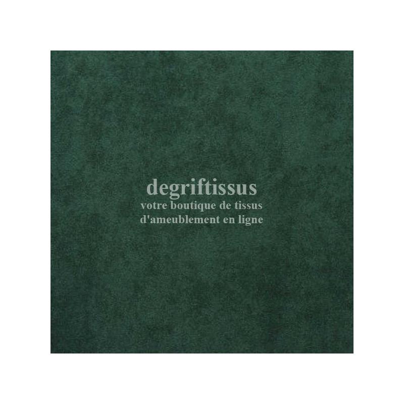 Tissu d'ameublement - Daim suédine Vert sapin - pour fauteuil - canapé - banquette - chaise - tête de lit - degriftissus.com