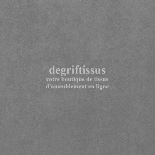 Daim suédine gris Dégriftissus vous propose ce tissu d'ameublement imitation daim suédine, pour chaises, fauteuils, tête de lit,