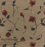 Tissu Tapisserie fleuri