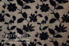 Tissu Tapisserie double face petites fleurs