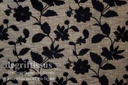 Tissu Tapisserie double face petites fleurs Dégriftissus vous propose ce tissu d'ameublement tapisserie à petites fleurs, double