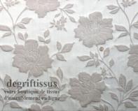 Tissu Tapisserie double face à grandes fleurs