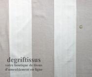 Tissu Tapisserie double face à bandes