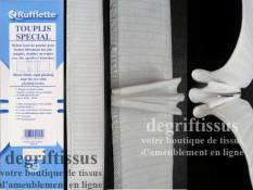 Dégriftissus vous propose cette Rufflette Tousplis Spécial 90 mm qui vous fera une belle tête de rideau, qui va tenir, sans fair