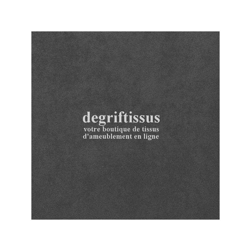 Tissu d'ameublement - Daim suédine gris foncé - chaises - fauteuils - coussin - canapé - tête de lit - degriftissus.com