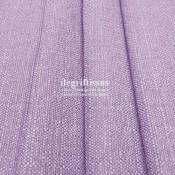 Lin parme texturé Dégriftissus vous propose ce tissu d'ameublement imitation lin texturé, pour chaises, fauteuils, tête de lit,