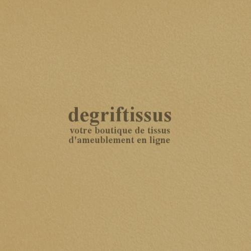 Daim suédine beige Dégriftissus vous propose ce tissu d'ameublement imitation daim suédine, pour chaises, fauteuils, tête de lit
