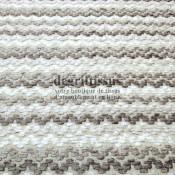Dégriftissus vous propose ce tissu d'ameublement motifs vaguelettes, tissage Jacquard de grande résistance, doux, d'aspect laine