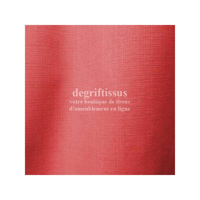 Dégriftissus vous propose ce tissu d'ameublement framboise tissé doublé de toile, premier choix, de belle épaisseur et de grande