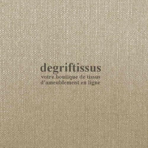 Lin beige texturé DT Dégriftissus vous propose ce tissu d'ameublement imitation lin texturé, pour chaises, fauteuils, tête de li