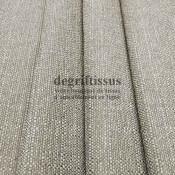 Lin ficelle texturé DT Dégriftissus vous propose ce tissu d'ameublement imitation lin texturé, pour chaises, fauteuils, tête de