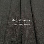 Lin gris texturé DL Dégriftissus vous propose ce tissu d'ameublement imitation lin texturé, pour chaises, fauteuils, tête de li
