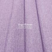 Lin parme texturé DT Dégriftissus vous propose ce tissu d'ameublement imitation lin texturé, pour chaises, fauteuils, tête de li