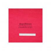Lin rouge clair texturé DT Dégriftissus vous propose ce tissu d'ameublement imitation lin texturé, pour chaises, fauteuils, tête