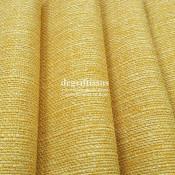 Lin jaune texturé DT Dégriftissus vous propose ce tissu d'ameublement imitation lin texturé, pour chaises, fauteuils, tête de li