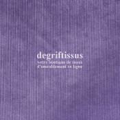Velours côte 601 lilas Dégriftissus vous propose ce tissu d'ameublement velours fine côte, pour chaises, fauteuils, tête de lit,