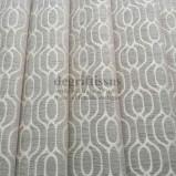 Tissu velours mixte alcôve nacré