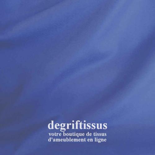 Tissu d'ameublement - Daim suédine bleu - pour fauteuil - canapé - banquette - chaise - tête de lit - degriftissus.com