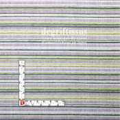 Tissu d'ameublement - rayé vert - Jacquard - fauteuil - chaises - canapé - degriftissus.com