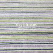 Tissu d'ameublement - rayé vert - Jacquard - fauteuil - chaises - canapé - double rideau - degriftissus.com