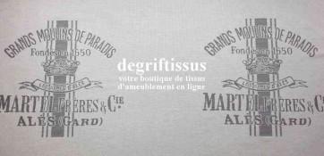 Tissu d'ameublement - Grands Moulins 2 - Jacquard - siège - fauteuil - coussin - sacs - degriftissus.com