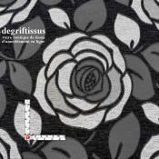 Tissus ameublement - Roses Art déco - Siège - chaise - fauteuil - coussin - décoration - double rideau - degriftissus.com