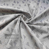 Tissu Art Déco gris