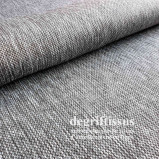 Effet tweed texturé int. ext. Gris chiné