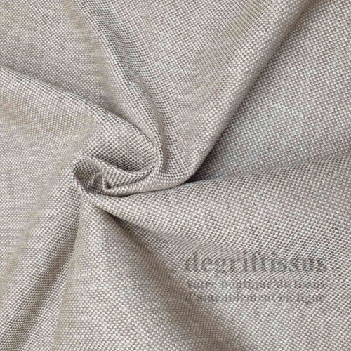 Dégriftissus vous propose ce tissu d'ameublement chêne, avec nuances de beiges, épais, haut de gamme, structuré, doublé latex, t