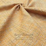 Tissu hachuré orange