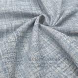 Tissu hachuré bleu ciel