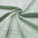 Tissu hachuré vert