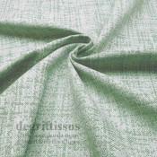 Tissu ameublement tissé Jacquard, hachuré vert - siège - chaise - fauteuil - canapé - double rideau - degriftissus.com