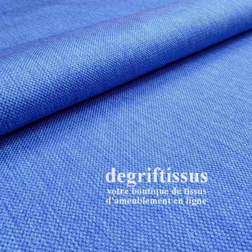 Tissu d'ameublement - texturé Gris chiné - intérieur extérieur résistant soleil - degriftissus.com