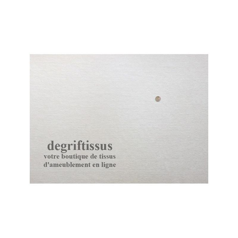 Dégriftissus vous propose ce tissu d'ameublement velours chenillé blanc Tissu d'ameublement de belle épaisseur, très résistant,