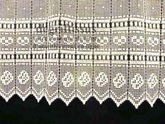 Macramé N°4, Blanc, 30cm