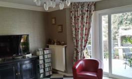 Tissus d'ameublement pour doubles-rideaux, coussins décoratifs, nappes...